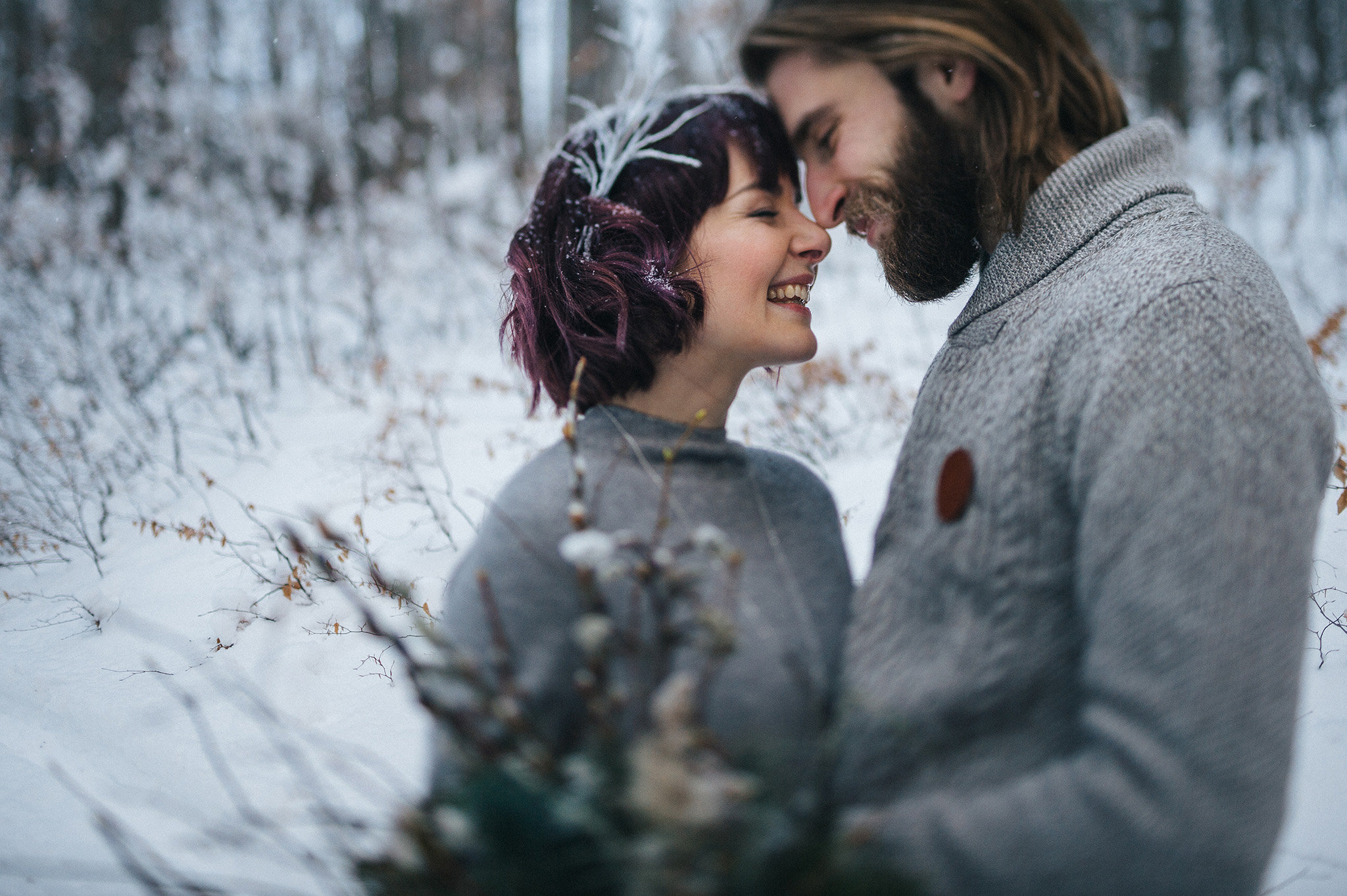 SNOWFLAKES – short winter wedding film